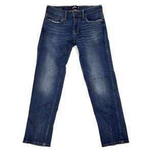 🍁 Hollister Advanced Stretch Slim Straight Jeans